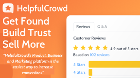Helpfulcrowd Review Collection and Marketing App